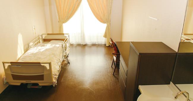 家具が自由に持ち込める居室
