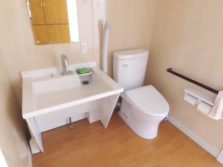 洗面とトイレ